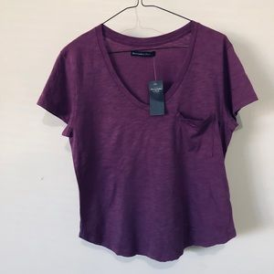 Abercrombie &fitch pocket top